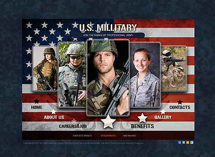 US Military - Easy flash templates