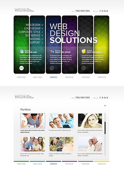 Web Design - HTML5 templates