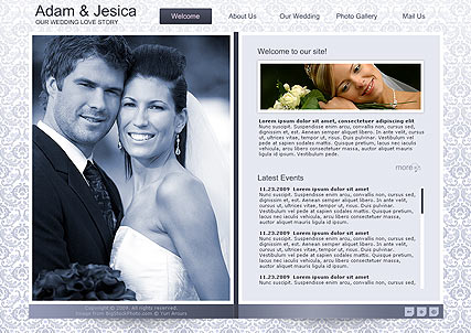 Wedding Album - Easy flash templates