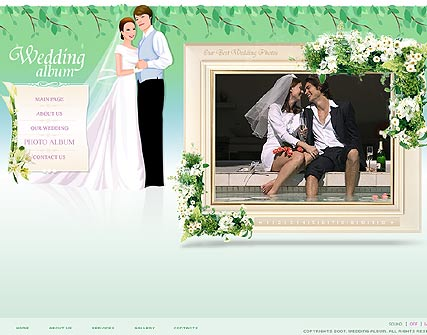 Wedding - Flash template