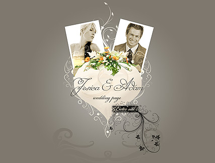 Wedding - Easy flash templates