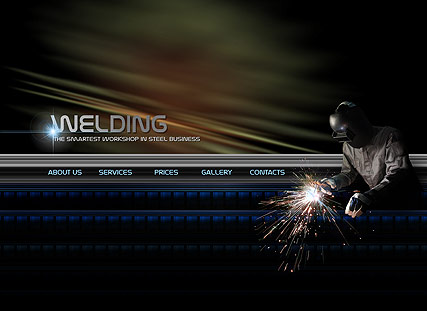 Welding Service - Easy flash templates