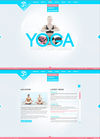 Yoga Classes - HTML5 templates