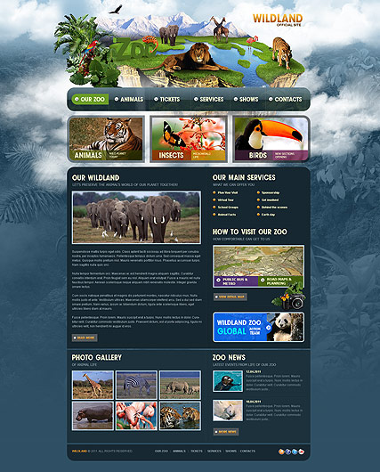 ZOO - HTML template